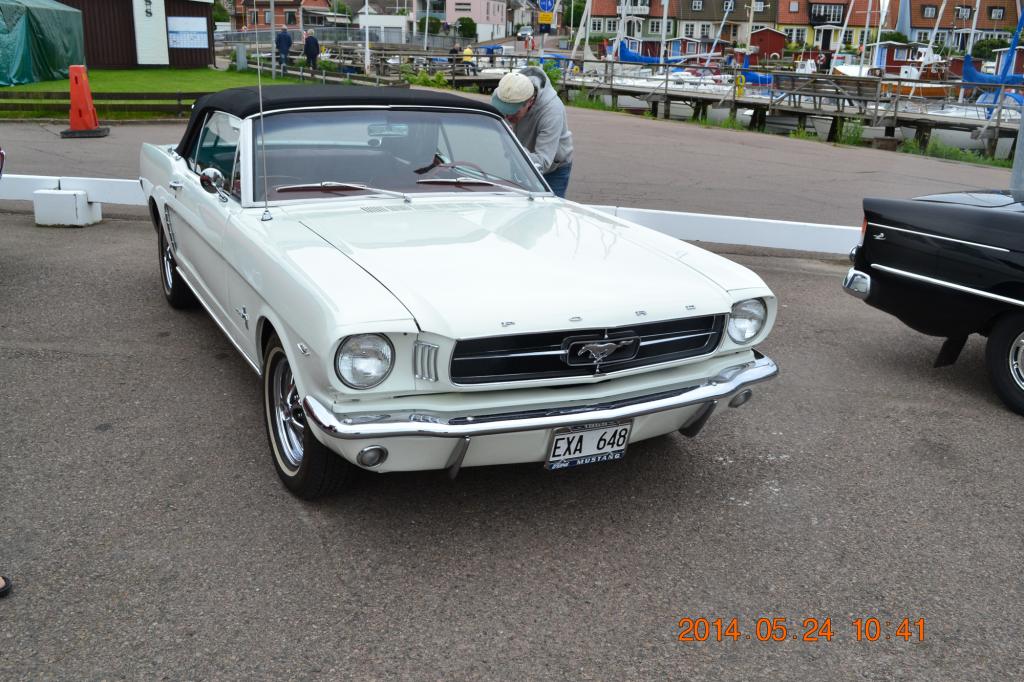 Ford Mustang från 60-talet.
